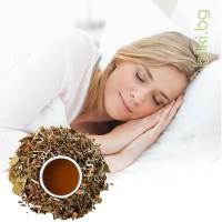 успокоителен чай, билки за сън, чай при стрес и безсъние,