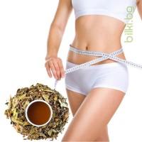 чай за отслабване, слабин, детокс чай аптека, чай при подуване