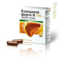 Есенциале Форте, N, 300, мг, 30, капсули, черен дроб,