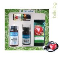 пакет, bioherba, нормално кръвно налягане, тинктура