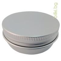 алуминиеви кутийки с алуминиева капачка, съхранение