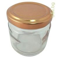 буркан стъклен, прозрачен, капачка, стъклен буркан