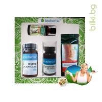 пакет, bioherba, подкрепа на нормалното тегло, тинктура, 17 билки