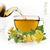 чай панацея, panacea tea, билков чай, чай здраве, билки за тонис, билкова смес панацеа, лайка цвят, жълт кантарион стрък, жълт смил, бреза лист, ягода горска