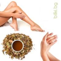 чай при подагра , билкова смес, билки при подагра