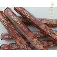 ароматни пръчици, инсенс, роза,аромат на кафе,кафе
