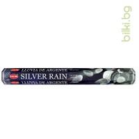 ароматни пръчици, инсенс,сребърен дъжд,сребро,дъжд, ароматни пръчици