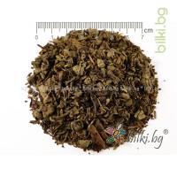 зелен чай перлички, барут билка