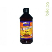 течен л-карнитин,liquid l-carnitine,now foods,цитрус,цена,цени,л-карнитин течен