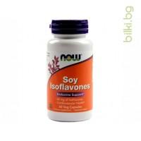 соеви изофлавони,soy Isoflavones,now foods,соя изофлавони now foods