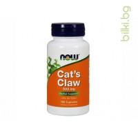 котешки нокът,cats claw,una de gato,now foods,имунна система