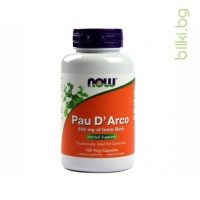 пау дарко,pau darco,now foods,капсули 100,500мг,най мощния антиоксидант