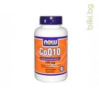 коензим Q10,CoQ10,now foods,коензим q10 цена,коензим q10 стареене