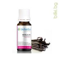 масло от ванилия, ванилия, vanilla officinalis flower oil