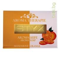 styx, витаминизиращ сапун,мандарина,портокал