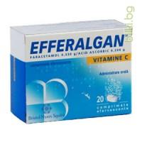 ЕФЕРАЛГАН 330 мг - аналгетик