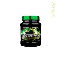 scitec l-glutamine, аминокиселини