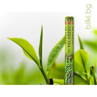 ароматни пръчици, инсенс, зелен чай