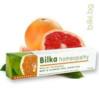 паста за зъби без флуор грейпфрут