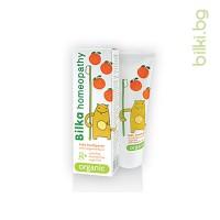 детска паста за зъби bilka organic 2+