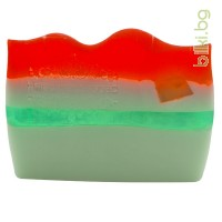 глицеринов сапун, мента и ягода, биохерба