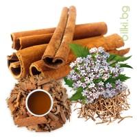 успокоителен чай, билки за нерви,валериана