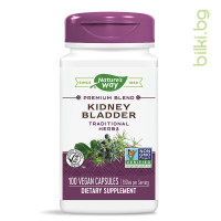 Kidney Bladder, Пикочен мехур и бъбреци, nature's way,