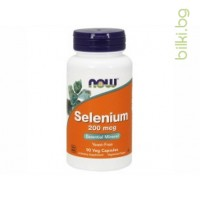 селен,selenium,витамин Е,now foods,хранителна добавка