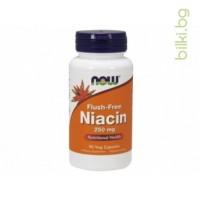 ниацин,Niacin - никотинова киселина,витамин B3,Flush-Free Niacin