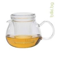 PRETTY TEA II G 0.5 l с капаче и филтър от стъкло- Йена