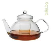 THEO G чайник 1,2 л с капаче и филтър от стъкло