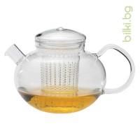 SОМА чайник 1.2 l,капаче от стъкло, акрилен филтър