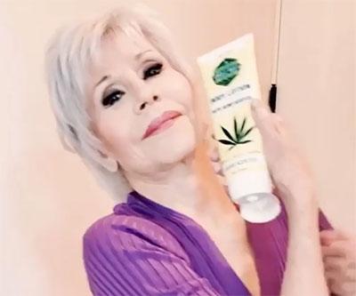 Джейн Фонда, коноп, козметика