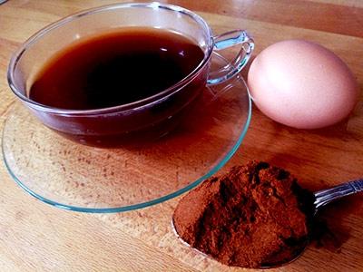 Кафе по скандинавски, приготвено с яйце