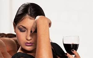 мигрена, вино