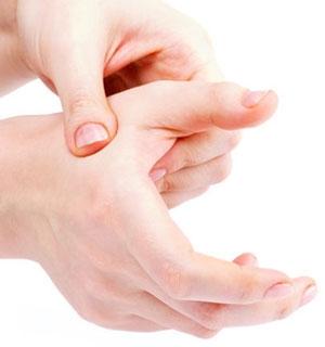 акупунктна точка на ръцете