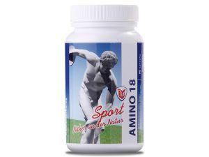 амино 18, purevital, за силен анаболен ефект, капсули, аминокиселини