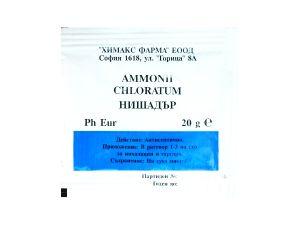 АМОНИЕВ ХЛОРИД, НИШАДЪР