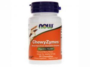 дъвчащи ензими,chewyzymes,now foods,храносмилателна система