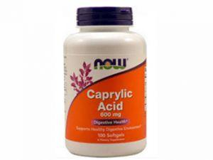caprylic acid,каприлова киселина,now foods,чревна флора,гъбични заболявания
