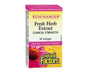 ehinamide, ехинацея екстракт, натурал фактор, имунна система