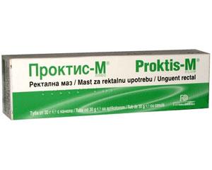 проктис-м,  против хемороиди
