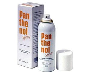 пантенол, спрей,повърхностни наранявания