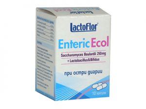 лактофлор,  enteric ecol, капсули