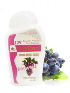 хидратиращо мляко мавруд и морски водорасли, seastars