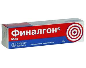ФИНАЛГОН -за ревматични болки в ставите и мускулите унгв..