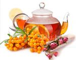 чай от облепиха, роза, шипка, невен