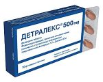 ДЕТРАЛЕКС 30 таблетки - повишава венозния тонус